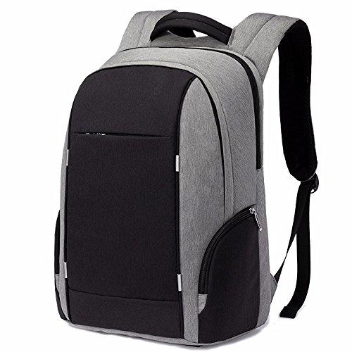 computer - paket multifunktions - diebstahlsicherung schultasche studierenden jugend backpacker reisen freizeit - wirtschaft,dunkelgrau hellgrau
