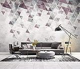 Foto Sfondo 3D Moderno Minimalista Astratto Geometria Piastra Sfondo Muro Carta Da Parati Personalizzato Soggiorno Hall Studio Murale,180Cm (H) X 260Cm (W)