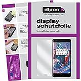 dipos I 6X Schutzfolie klar passend für OnePlus 3 Folie Displayschutzfolie