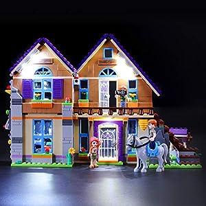 BRIKSMAX Kit di Illuminazione a LED per Lego Friends La villetta di Mia,Compatibile con Il Modello Lego 41369 Mattoncini… 0716852280438 LEGO