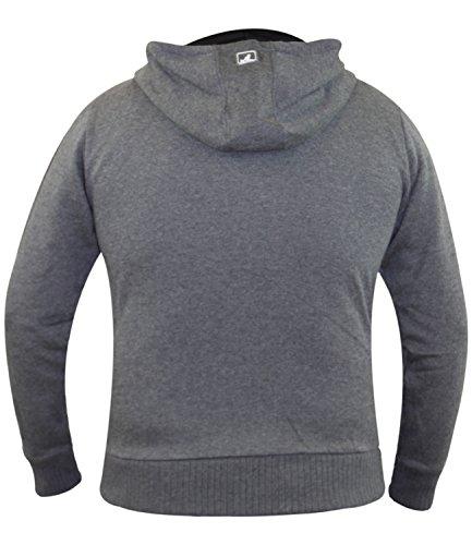 Kangol -  Tuta da ginnastica  - Uomo Hoody-Charcoal Marl