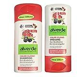 alverde NATURKOSMETIK Color-Glanz Shampoo &...