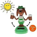 Aliki Solar Wackelfigur - Dancing Beer Dog