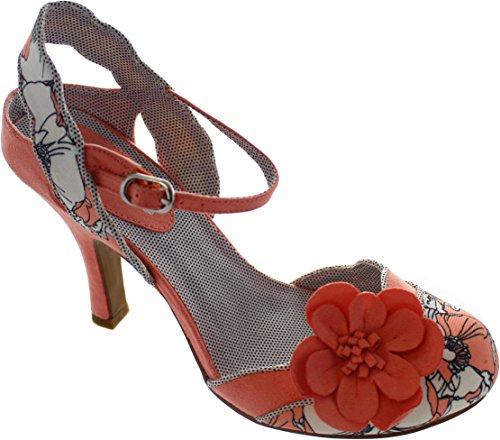 Ruby ShooHeidi - Scarpe con Tacco donna Peach