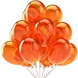 """Cotigo-Globos de Calabaza Globos de Fiesta Globos de Látex para Decoraciones de Fiesta de Halloween ,color Naranja,12"""" (72pcs)"""
