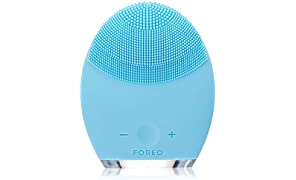FOREO LUNA 2 Facial Brush and Anti-Aging Face Massager for Combination Skin, Gently Removes Dead Skin Cells and Unclogs Pores