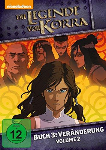 Die Legende von Korra, Buch 3: Veränderung, Volume 2 [2 DVDs]
