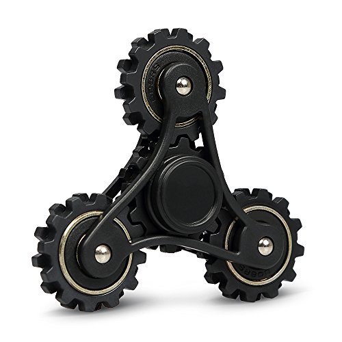 Fidget spinner | hand spinner innootech 4-ingranaggio mano spinner 3-5 minuti in abs per ridurre lo stress, l'ansia, l'add, l'adhd