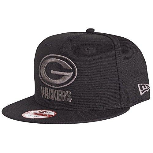 New Era 9Fifty Snapback Cap - Green Bay Packers schwarz