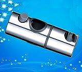 Bellabrunnen Duschkopf Schieber Gleiter Halter Brausehalter Stangengleiter für Duschstange F23 mm Durchmesser, Ersatzgleiter