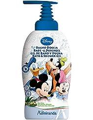 Disney Mickey Friends Bath and Shower Gel, Aloe Vera/ Olive Oil