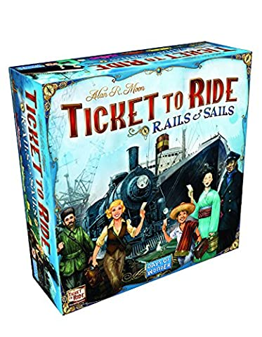 Jeu de société Ticket to Ride Rails et Sails
