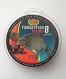 WFT TF8 Feeder Blood red 200m 0,12mm 8kg - Angelschnur zum Feedern, geflochtene Schnur zum Feederangeln, Feederschnur