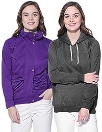 Purys Solid Jacket & String Hoodie