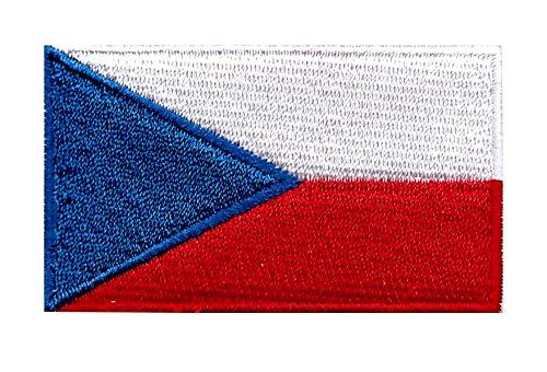 Parche Termoadhesivo Bandera República Checa 6cm