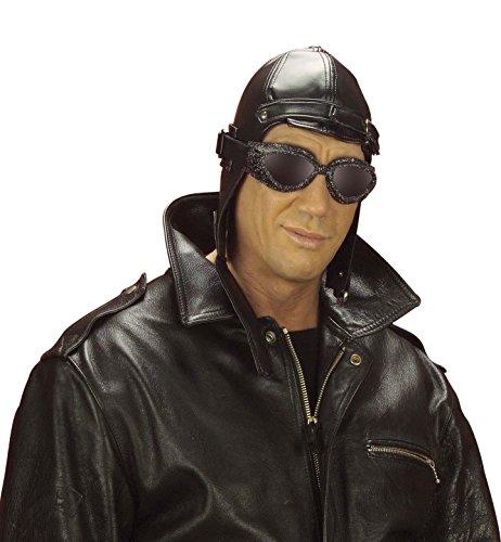 Imagen de aviador leatherlook 20s 30s gangster sombreros gorras y sombreros para disfraces accesorios alternativa