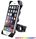 #3: Andride Universal Bike Holder 360 Degree Rotating Bicycle Holder Motorcycle cell phone Cradle Mount Holder for All Size Mobile Phones