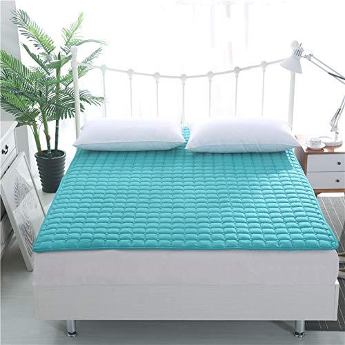 atzen Mat,premium Japaner Boden Futon Matratzenauflage,roll-up Schlafen Pad Unterbetten Für Sommer Reise-blau Twin Xl ()