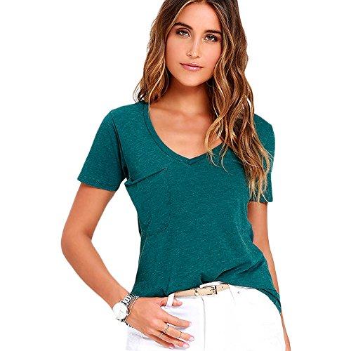 meinice estate Basic tasca maglietta Blue Large