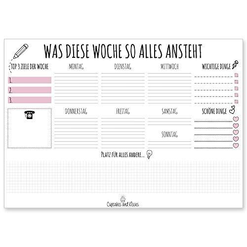 cupcakes-kissesr-schreibtischunterlage-zum-abreissen-din-a3-gross-papier-weiss-schreibunterlage-fur-