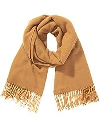 PIECES Damen Schal New Eira Wool Scarf, Einfarbig
