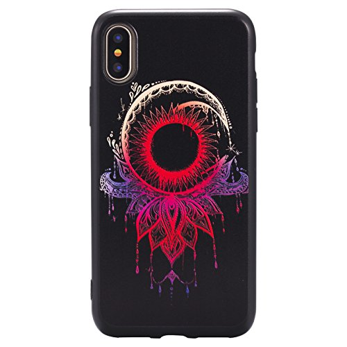 Coque Pour iPhone X, iPhone 10 Coque,AyiHuan Ultra-Thin Etui Silicone Gel TPU Souple Coque Back Case Cover pour Apple iPhone X (2017),L2 L6