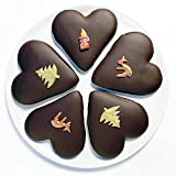 Bäckerei Sailer Lebkuchenherzen - 5 Stück - täglich frisch hergestellt