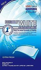 Idea Regalo - 28 Sbiancamento Dei Denti Strisce Sbiancante Denti Qualità Professionale Nessuna Tecnologia Antiscivolo - Whitestrips - Teeth Whitening Strips - Lovely Smile Premium Line