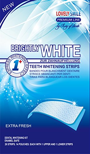 Lovely Smile Bright White-Strips 28 Bandas...