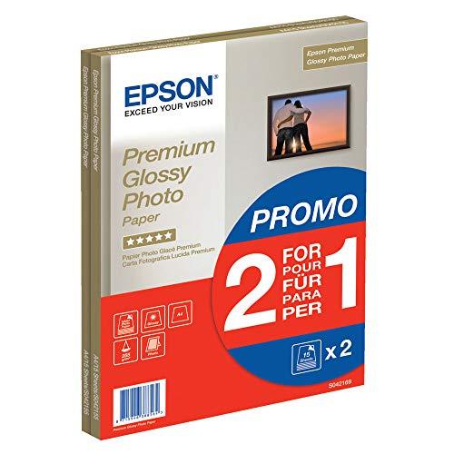 Epson Premium glossy photo paper inkjet 255g/m2 A4 2x15 Blatt Pack