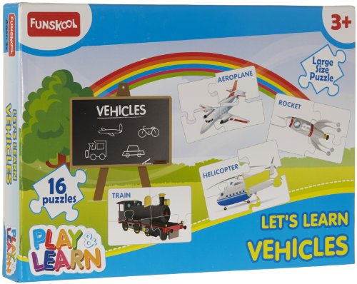 Funskool Vehicles Puzzles