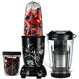 Wonderchef Nutri-Blend 63152587 400-Watt Blender with Juicer Attachment (Black)