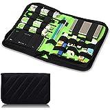 Damai Reisebeutel Tragbare Universale Reisetasche Tasche für Elektronik Zubehör Reiseorganisator für Festplatte und Kabel mit Kabelbinder, Mittel