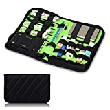BUBM Portable Universal Elettronica Accessori Travel Organizer disco rigido Custodia cavo Organiser- medio