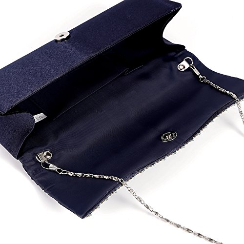 Anladia , Damen Clutch Navy