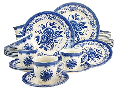 Creatable 19426 30-Piece Porcelain