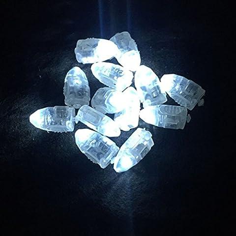 asdomo 10PCS LED Luftballons Licht Helle non-blinking Papier Laterne Beleuchtung Bullet Licht für Party Hochzeit Blumen Dekoration