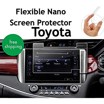 Toyota Innova Fortuner Car Navigation Screen Protective