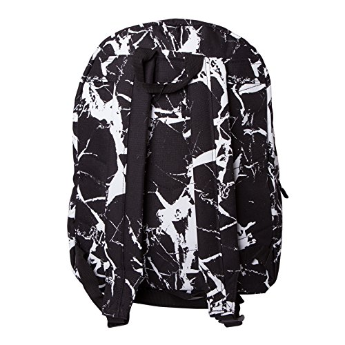 eb25fb07a64 HYPE Marble Black/White Backpack Rucksack Bag - Ideal School Bags - Rucksack  For Boys and Girls