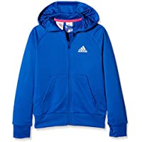 adidas Yb X FZ Hoodie Sudadera, Niños (Azul/Blanco), 176