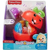 Fisher-Price Baby Mela Impara con Me, Insegna la Frutta, i Numeri e i Colori, dai 6 Mesi, DYY28