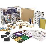 KreativeKraft® Kit Album Photo Scrapbooking pour Adultes avec Scrap Book à Spirales Et Plus De 60 Accessoires et...