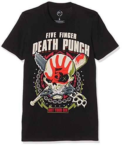 Rockoff Trade Herren T-Shirt Zombie Kill, Schwarz-Schwarz, L Preisvergleich