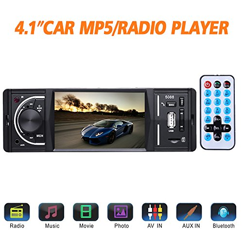 Masione Bluetooth Autoradio Stereo mit FM und Radio in Dash - 4.1
