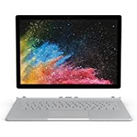 Microsoft Surface Book 2 34,29 cm (13,5 Zoll) Notebook (Intel Core i5, 8GB RAM,128GB SSD, Intel HD Graphics 620, Win 10) silber