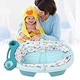 Cocoarm Aufblasbare Baby Badewanne Faltbare Tragbare Kinderwanne Ergonomische Babywanne...