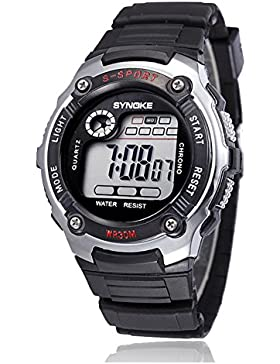 Children 's wasserdicht electronic watch student luminous chronographen sport-B