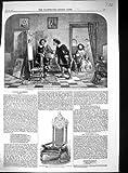 Sedia 1859 della Stampa di Robert Burns del Poeta della Stampa dell'Oggetto D'antiquariato di Arte di Vandyke Frank Hals - Original old antique victorian print - amazon.it