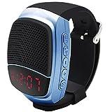 Svpro Bluetooth Senza Fili Altoparlanti Watch,Bracciale Intelligente con Lettore Musicale,Hands-Free Call,Autoscatto,Supporti USB,TF Prendendo Photoes e Visualizzazione orologio