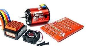 SKYRC CHEETAH 1600KV 21.5T Sensored Brushless Motor & CS60 60A ESC Combo ME630 with RCECHO Full Version Apps Edition